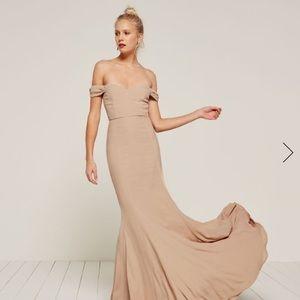 Reformation - Gardner Dress Champagne